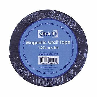 Docrafts 3m Magnetic Craft Tape (1.27cm) (STI 4621001)