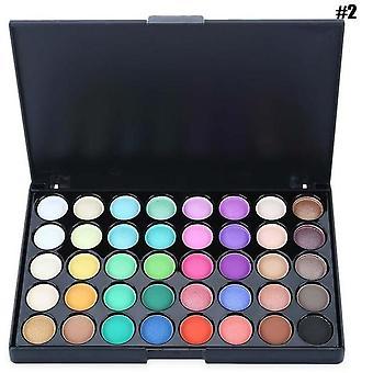 Eyeshadow Pallete Warm Color Smoky Makeup