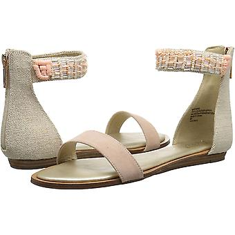 Nanette Lepore Womens Marianne NuBuck Open Toe Casual Ankle Strap Sandals