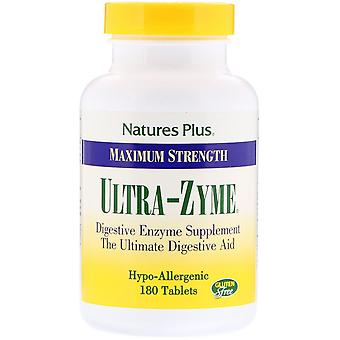 Nature's Plus, Maximum Strength Ultra-Zyme, 180 Tablets