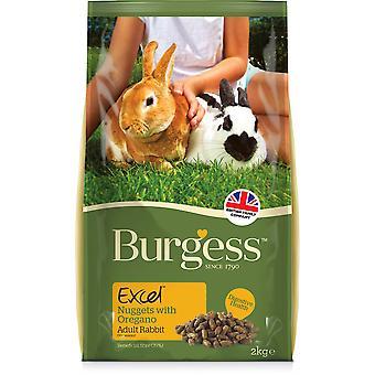 Excel Rabbit Adulte avec Oregano- 2kg