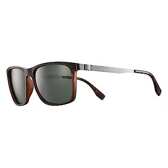 Sunglasses Unisex Cat.3 matte brown/green (JSL11790)