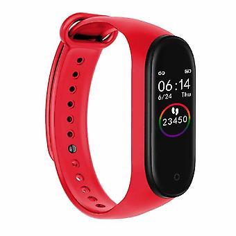 M4 لون الشاشة الذكية معصم، مراقبة معدل ضربات القلب، تعقب نشاط اللياقة البدنية