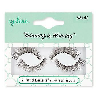Eyelene Fake Eyelashes Twin Pack - Sunny 88142 - Delicate Everyday Lash Look