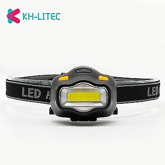 Outdoor-Beleuchtung Kopflampe, 12 Mini Cob LED für Camping Wandern, Angeln,