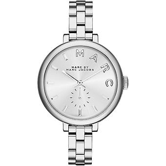 Marc Jacobs MBM3362 Sally Silver Dial Stainless Steel Ladies Watch