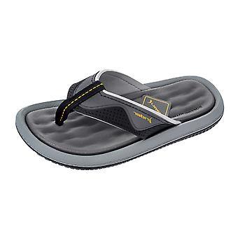 Rider Kids Dunas Boys Flip Flops / Sandals - Grey