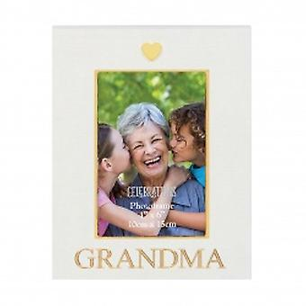 Gold and Cream Photo Frame for Grandma