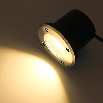Cob Led underjordiskt ljus Ip68 vattentät 85-265v Utomhus nedgrävd lampa Dc 12v Glödlampa 3w 5w 7w 9w 12w