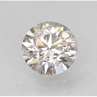 معتمد 0.50 قيراط E VS1 جولة رائعة المحسنة الطبيعية فضفاضة الماس 5.06mm