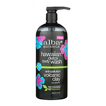 Alba Botanica Hawaiian Detox Body Wash, 32 Oz