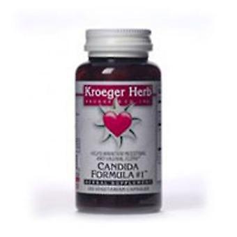 Kroeger Herb Candida Formula # 1 (Kantita), 100 Cap