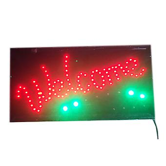 "Led Sign Animated  Customers Attraction ""welcome"" Store Shop Restaurant Sign With Hanging Chain"