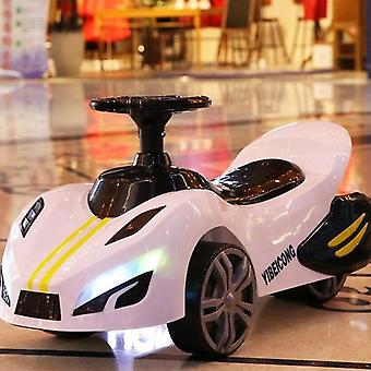 Children's Car Scooter, Four-wheel Electric Car With Light & Music/ Baby