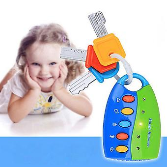 Children's Simulation Remote Control Car Key Lock Jouet