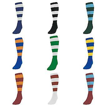 Precision Unisex Adult Hooped Football Socks