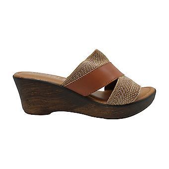 Easy Street Womens Postiano Open teen ongedwongen Platform sandalen