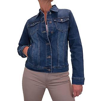 Veste de denim stretch femmes de style occidental vestes jeans 10-20