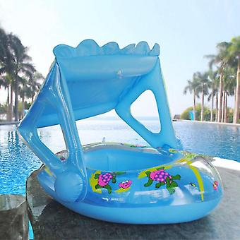 Inflatable Water Swimming Ring Dinosaur Pontoon Baby Boat