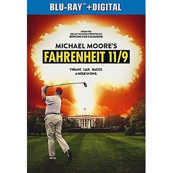 Fahrenheit 11/9 [Blu-ray] USA import