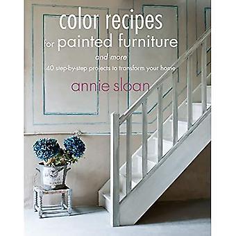 Kleur recepten voor geschilderde meubelen en meer