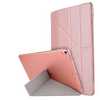 Case Ultra-thin smart folio case for Apple iPad 4/3/2 Rose gold