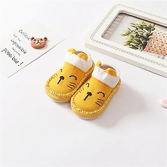 Kid Floor/baby Socks/shoes With Rubber Soles/animal Pattern, Anti-slip Soft