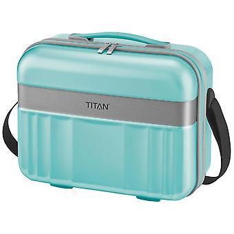 TITAN Spotlight Flash Beautycase 32 cm, 21 L, Turquoise