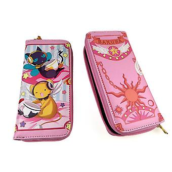 PU leather Coin Purse Cartoon anime wallet - Chat #95