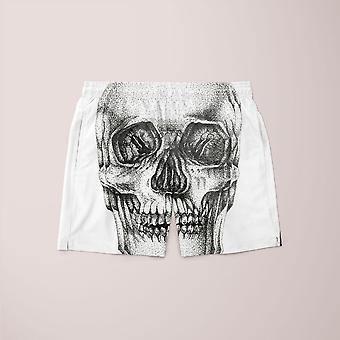 Pointillism schedel shorts