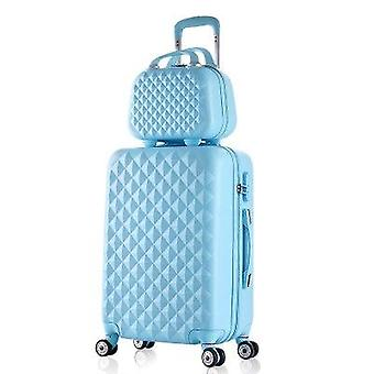 Fashion Cosmetic Bag/girl Students Trolley Case,travel Spinner Password