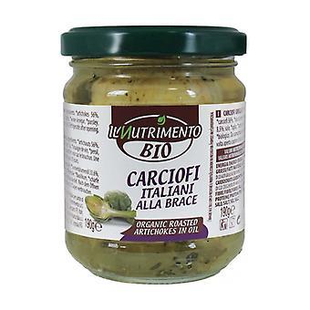 Alcachofas italianas a la plancha None