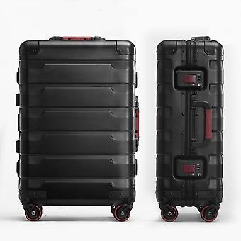 Aluminium Reise Koffert / Universal Hjul Luksus Bagasje