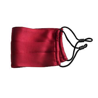1 pieza 100% seda de doble cara hombres y mujeres ultrafino doble cubierta protector solar