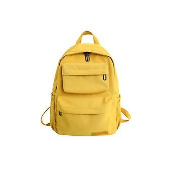 Women Nylon Multi Pocket Travel Backpack