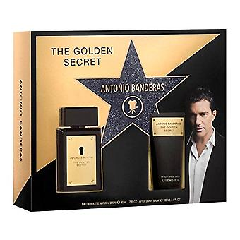 Antonio Banderas The Golden Secret Gift Set 50ml EDT + 100ml Aftershave Balm