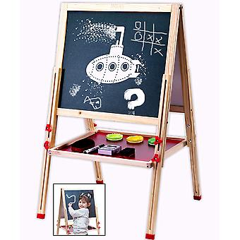 Jaques of london activity kids easel - the perfect kids easel for art. wooden toys for 2 3 4 year ol