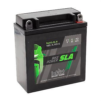 intAct YB5L-B / 50512 Sealed Activated SLA Bike-Power Battery
