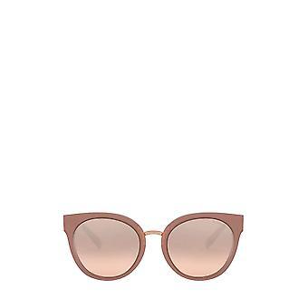Tiffany TF4168 beige pink / transparent brown female sunglasses