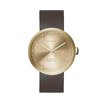 Leff Amsterdam LT71022 D38 Brass Tube Wristwatch