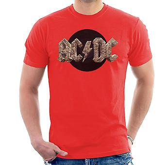 AC/DC Rock Logo Miesten t-paita