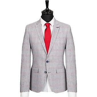 Remus Uomo Prince Of Wales Check Jacket