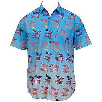 Natty Seltzer Natural Light Tropical Bros Hawaiian Shirt