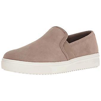Blondo Womens Riyan Leather Low Top Slip On Fashion Sneakers