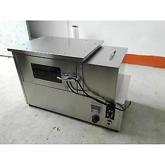 4 Varmestenger Pizza Kjegle Ovn Making Machine For Restaurant Utstyr