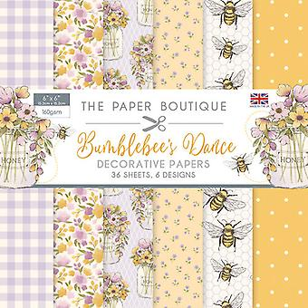 The Paper Boutique - Bumblebee's Dance Collection - 6x6 Paper Pad