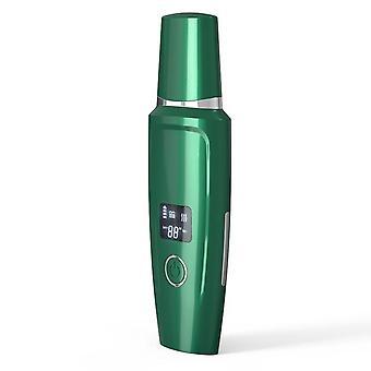 Limpiador de piel ultrasónico nano limpiador de iones cara levantando extractor de limpieza profunda dispositivo de belleza + pulverizador de vapor facial