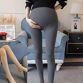 High Density Polyamide Fleece Thickened Maternity Legging Winter Adjustable