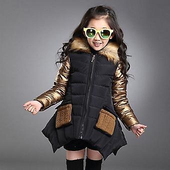Baby Winter Jacket, Down Coat Hooded Collar Warm Jacket Cloth