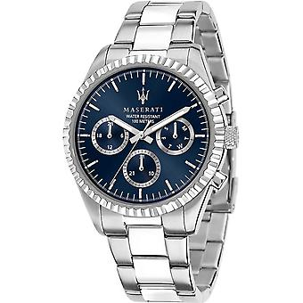 Mens Watch Maserati R8853100022, Kvarts, 43mm, 10ATM